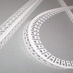 Уголок арочный пластиковый 25х25 2500мм