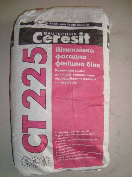 """""""Cerezit"""" Ст -225 белая фасад"""