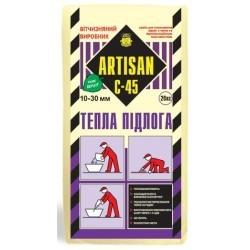 САМОВАРАВ. смесь АРТИСАН С-45 тёплый пол (25кг) 10-30мм