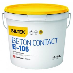 Грунтовка SILTEK Beton contact E-106 (10л)