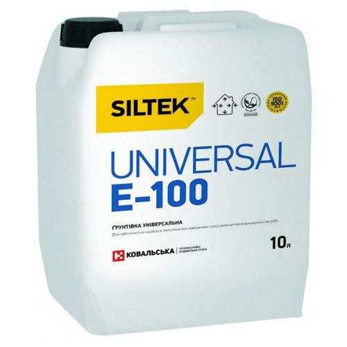 ГРУНТ глубокопроникающий SILTEK E-100 (10л)